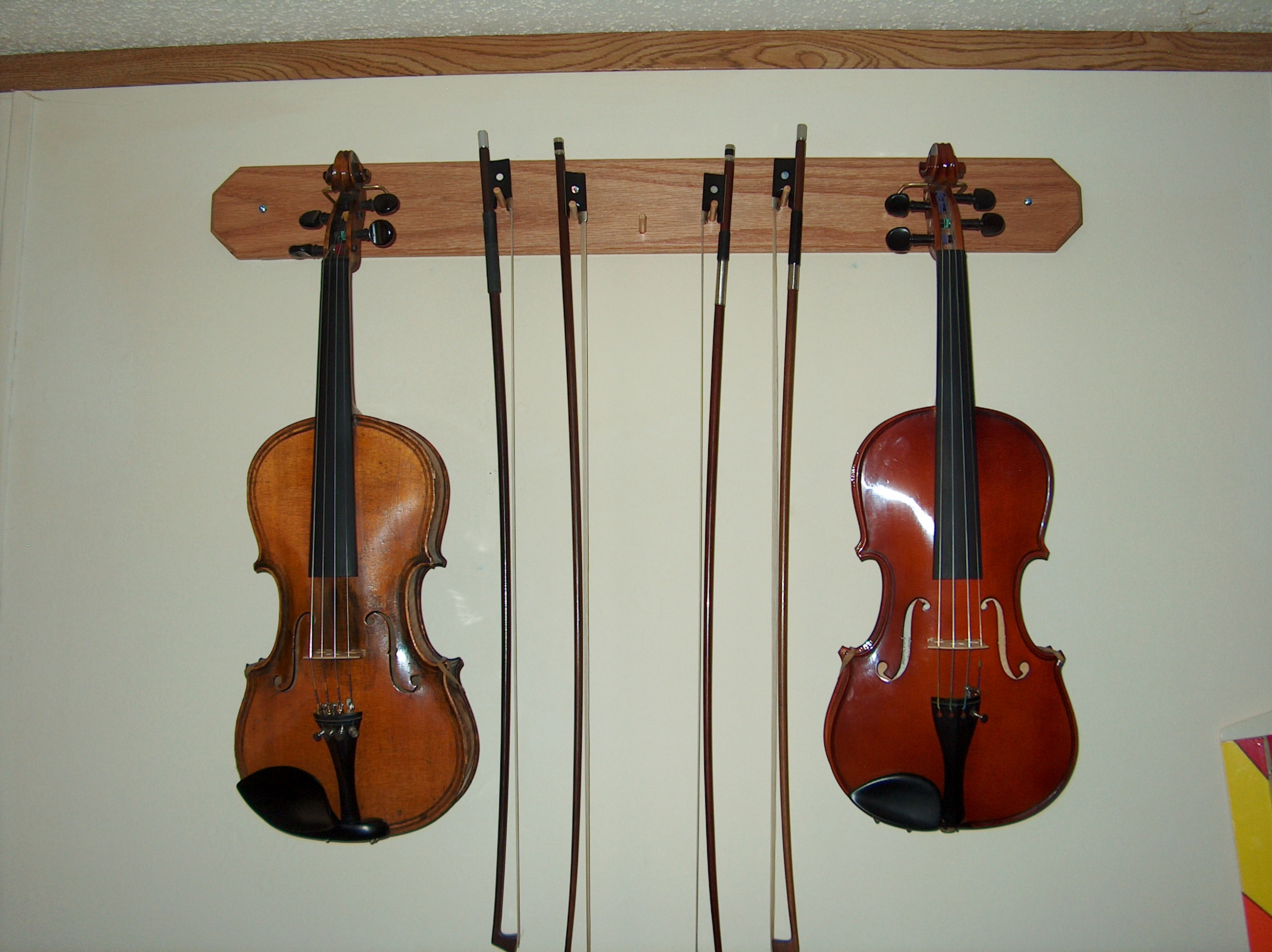 Wall Mount Violin Bow Hanger Breakroom Forumlearn To