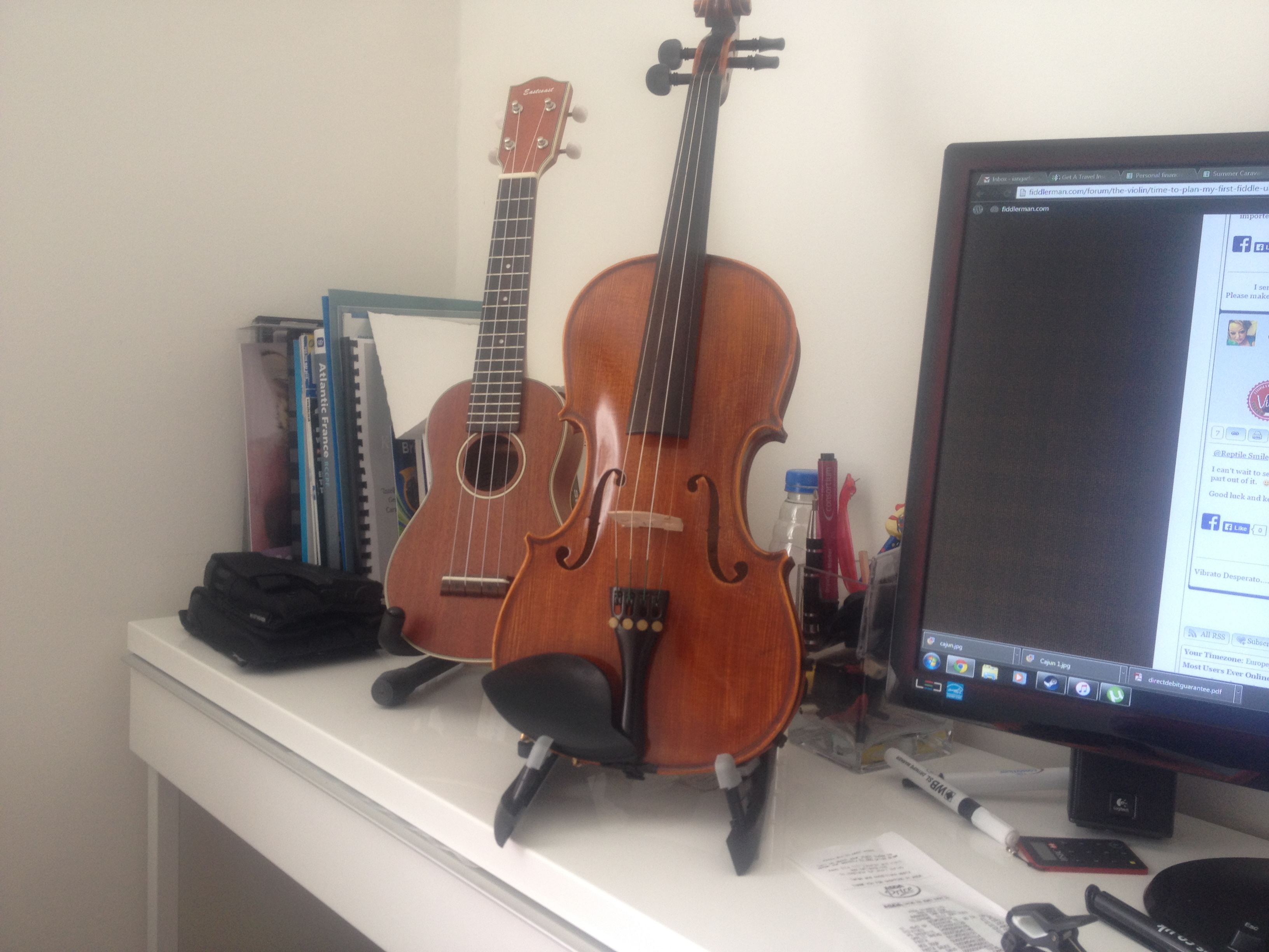 Fiddle talk - VIOLIN DISCUSSION FORUM - Playing the violin