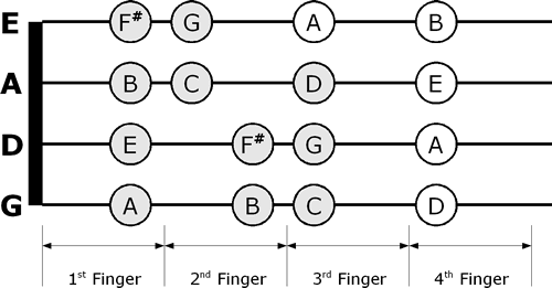 fiddle talk - violin discussion forum - playing the violin ... violin finger notes diagram  #13