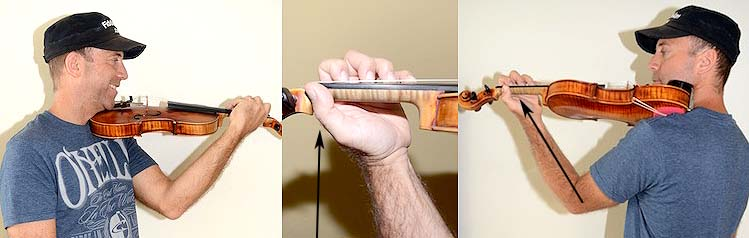 How To Hold A Violin
