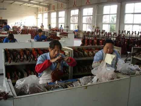 Violin Factory in China