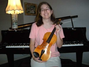 """Fiddle4Fun"" with the winning CVN500 from fiddleman.com's giveaway"