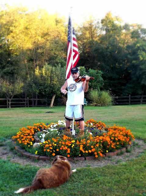 Rick Stone Flag background