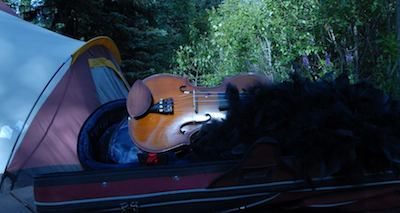 Camping fiddle