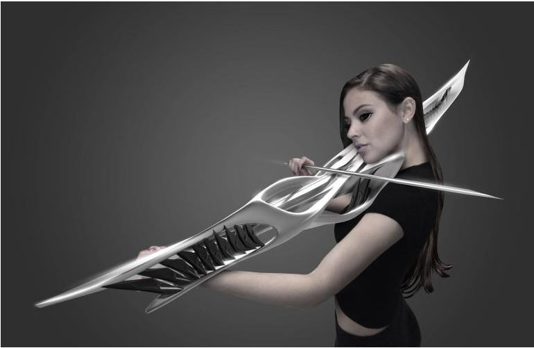 A 3D-printed violin is just one of a suite of instruments designed to provide a collaborative experience exploring our relationship with sound.